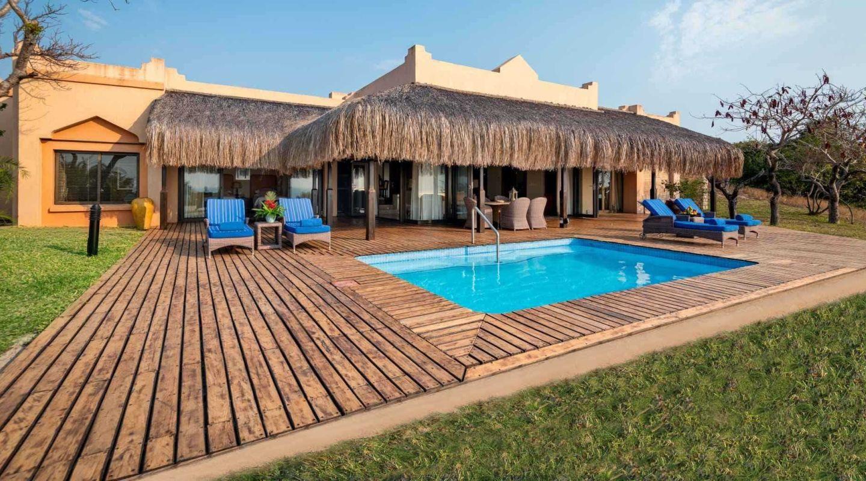 Anantara Bazaruto Mozambique pool room