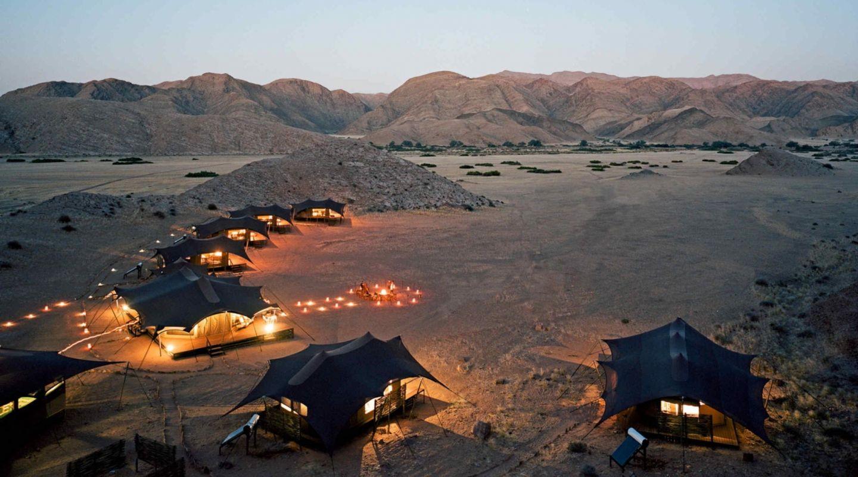 Hoanib Valley Camp Dusk
