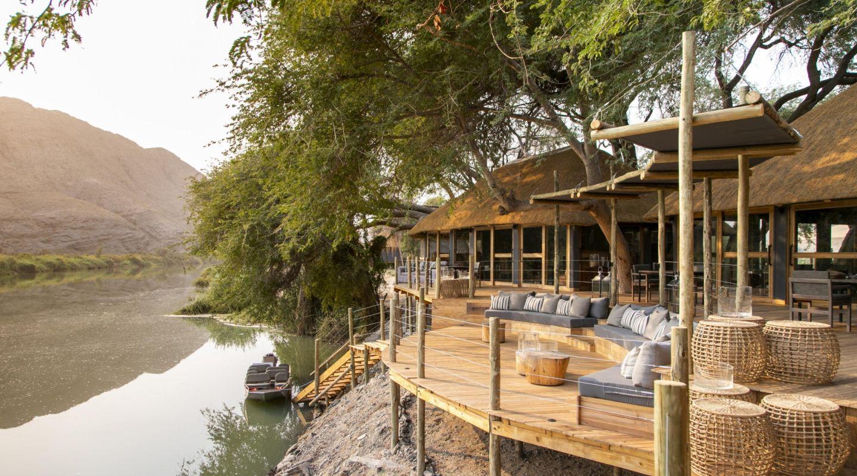 Serra Cafema Camp River