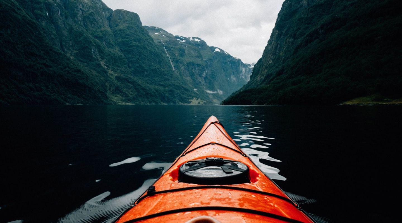 Benjamin davies kayaking norway unsplash