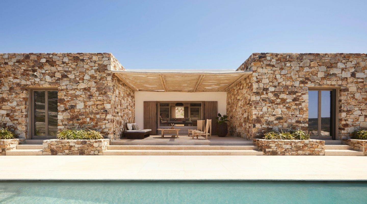 The rooster antiparos sea view villa private swimming pool scaled