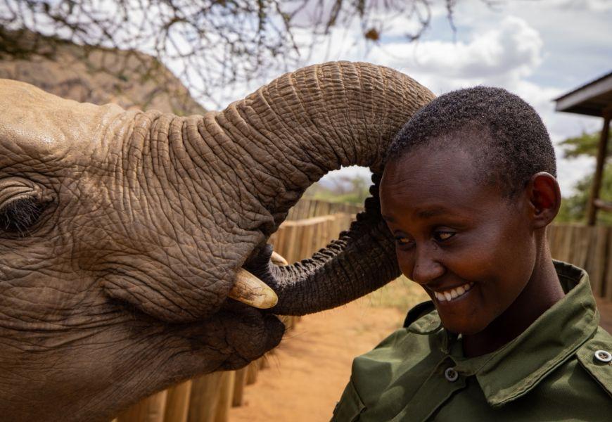 Reteti Elephant Sanctuary Keith Ladzinski Niarra travel