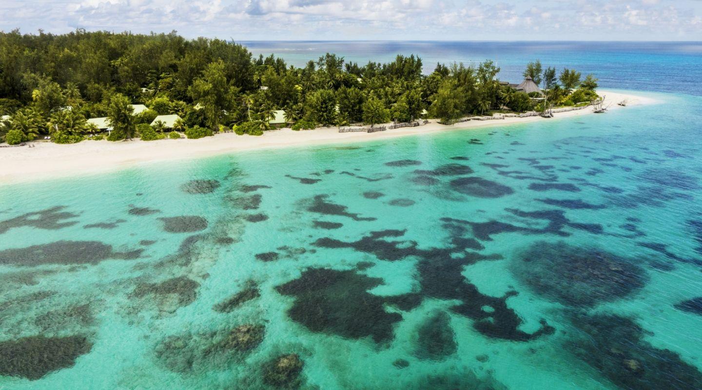 Denis Island Seychelles Aerial 4
