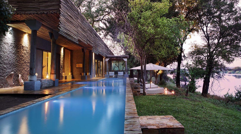 Matetsi Victoria Falls Zimbabwe lap pool