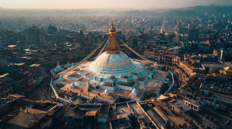 Raimond klavins kathmandu stupa unsplash